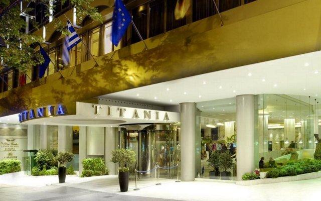 Отель Titania Греция, Афины - 4 отзыва об отеле, цены и фото номеров - забронировать отель Titania онлайн вид на фасад
