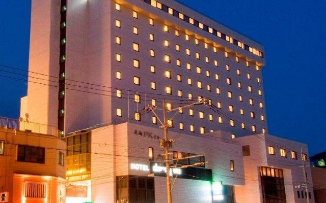 Отель Dormy Inn Nagasaki Hot Spring Нагасаки вид на фасад