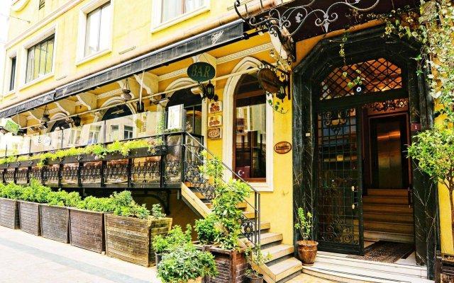 Santa Ottoman Hotel Турция, Стамбул - 1 отзыв об отеле, цены и фото номеров - забронировать отель Santa Ottoman Hotel онлайн вид на фасад