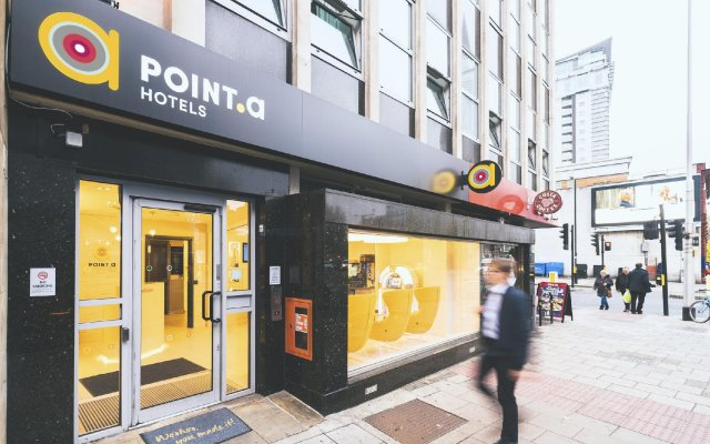 Point A Hotel - Westminster, London вид на фасад