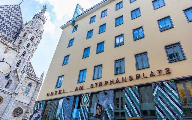 Boutique Hotel Am Stephansplatz вид на фасад