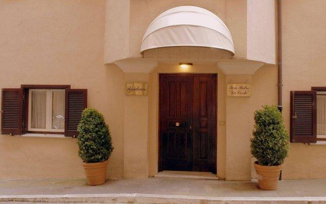 Отель San Pietro La Corte вид на фасад