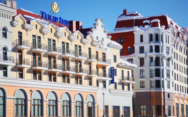 Tulip Inn Roza Khutor Hotel Красная Поляна вид на фасад
