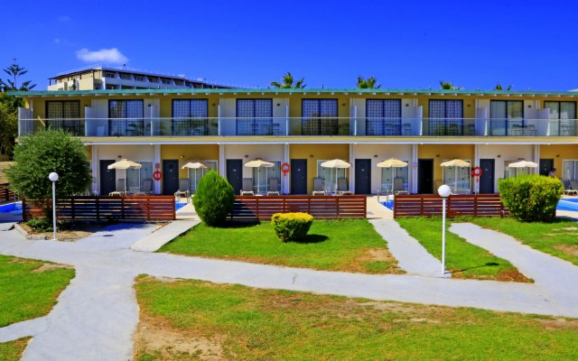 Отель Labranda Blue Bay Resort Родос вид на фасад