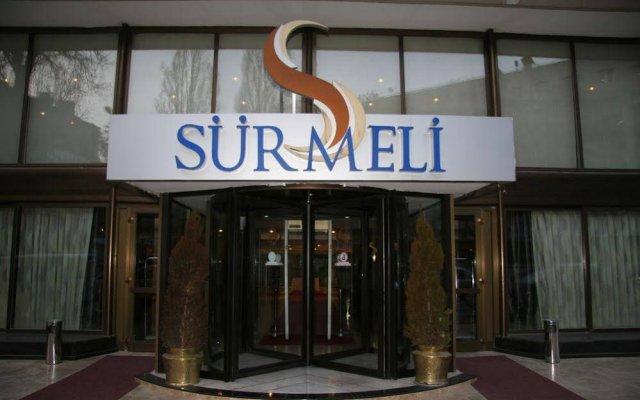 Surmeli Ankara Hotel вид на фасад