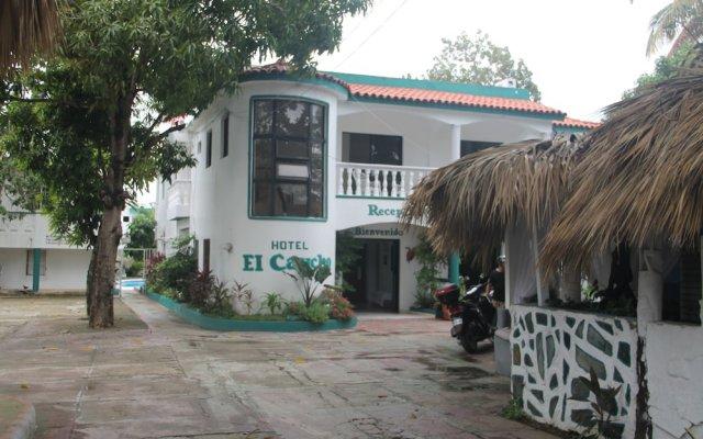 Отель El Caucho Доминикана, Бока Чика - отзывы, цены и фото номеров - забронировать отель El Caucho онлайн вид на фасад