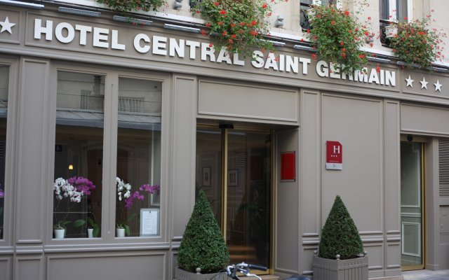 Hotel Central Saint Germain вид на фасад
