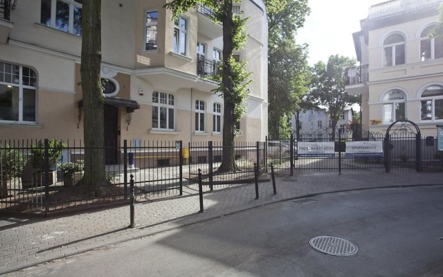 Отель Jasminowy Sopockie Apartamenty Сопот вид на фасад