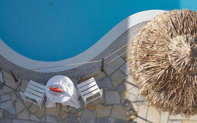 Anemos Beach Lounge Hotel вид на фасад