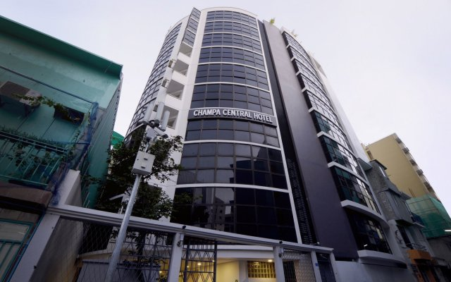 Champa Central Hotel вид на фасад
