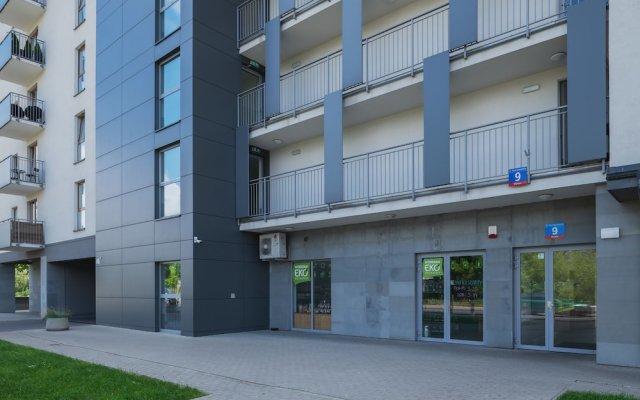 Отель P&O Apartments Obozowa 2 Польша, Варшава - отзывы, цены и фото номеров - забронировать отель P&O Apartments Obozowa 2 онлайн вид на фасад