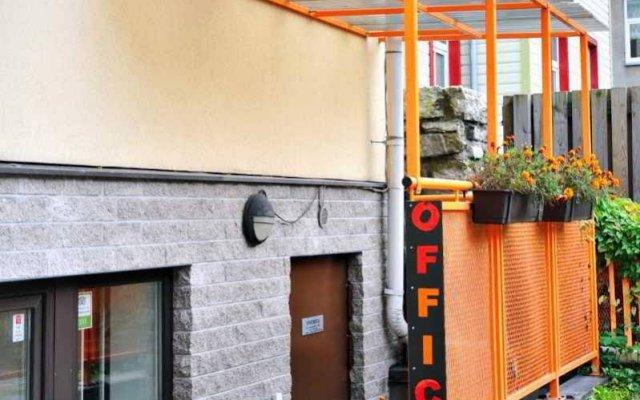 Апартаменты Pilve Apartments вид на фасад