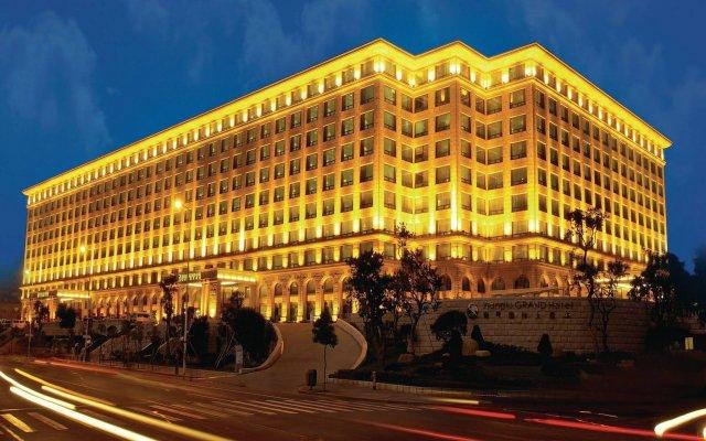 Xianglu Grand Hotel Xiamen Сямынь вид на фасад