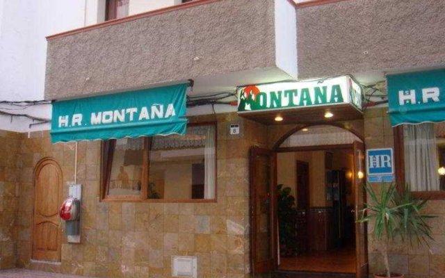 Отель Hostal Montaña вид на фасад