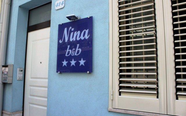 Отель Nina B&B Джардини Наксос вид на фасад