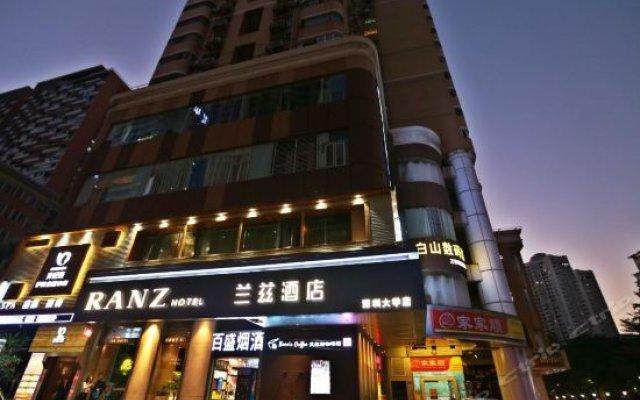 Отель Ranz Hotel Китай, Шэньчжэнь - отзывы, цены и фото номеров - забронировать отель Ranz Hotel онлайн вид на фасад