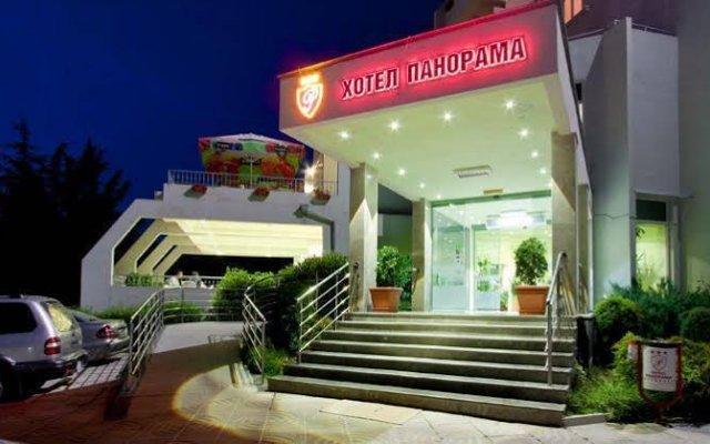 Отель Panorama Hotel Sandanski Болгария, Сандански - отзывы, цены и фото номеров - забронировать отель Panorama Hotel Sandanski онлайн вид на фасад