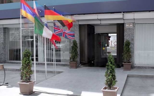 Kantar Hostel Ереван вид на фасад