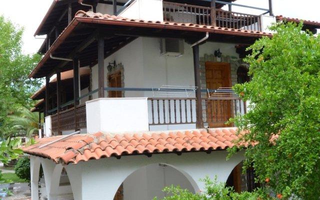 Отель Rigakis Греция, Ханиотис - отзывы, цены и фото номеров - забронировать отель Rigakis онлайн вид на фасад