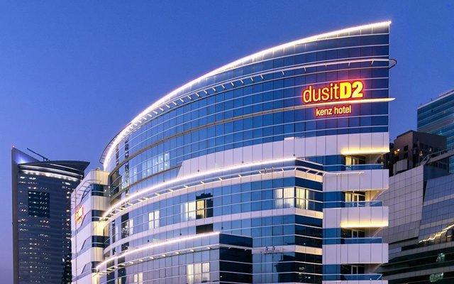 dusitD2 kenz Hotel Dubai Дубай вид на фасад