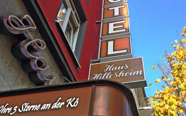 Hotel Haus Hillesheim вид на фасад