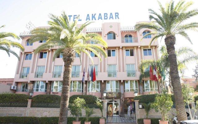 Отель Akabar Марокко, Марракеш - отзывы, цены и фото номеров - забронировать отель Akabar онлайн вид на фасад