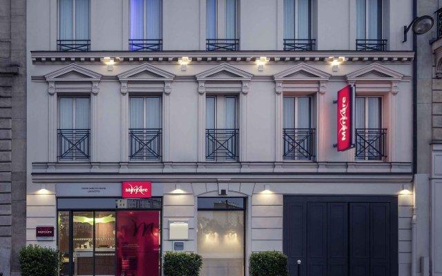 Hotel Mercure Paris Gare Du Nord La Fayette вид на фасад