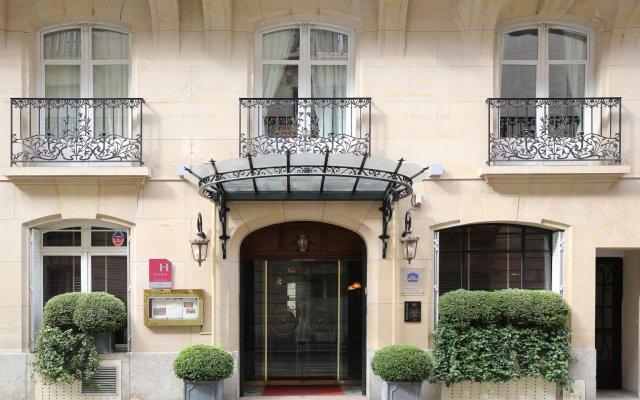 Отель Best Western Premier Trocadero La Tour Париж вид на фасад