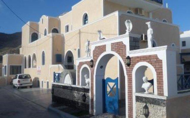 Отель Princess Santorini Villa Греция, Остров Санторини - отзывы, цены и фото номеров - забронировать отель Princess Santorini Villa онлайн вид на фасад