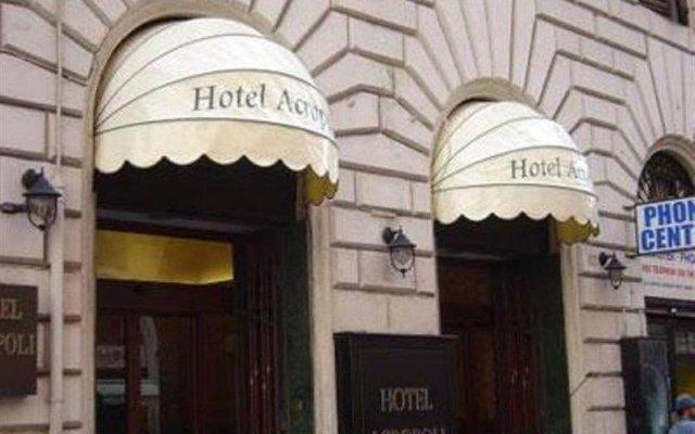 Hotel Acropoli вид на фасад