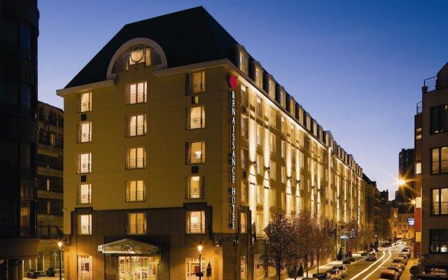 Отель Renaissance Brussels Hotel Бельгия, Брюссель - 3 отзыва об отеле, цены и фото номеров - забронировать отель Renaissance Brussels Hotel онлайн вид на фасад