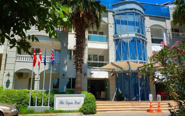 Отель Blue Lagoon Otel Мармарис вид на фасад