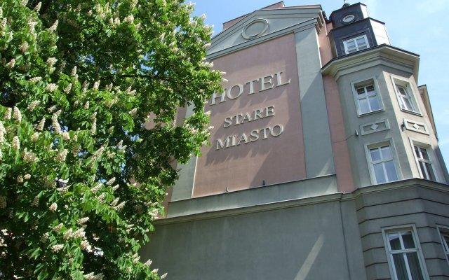 Отель Stare Miasto Польша, Познань - отзывы, цены и фото номеров - забронировать отель Stare Miasto онлайн вид на фасад