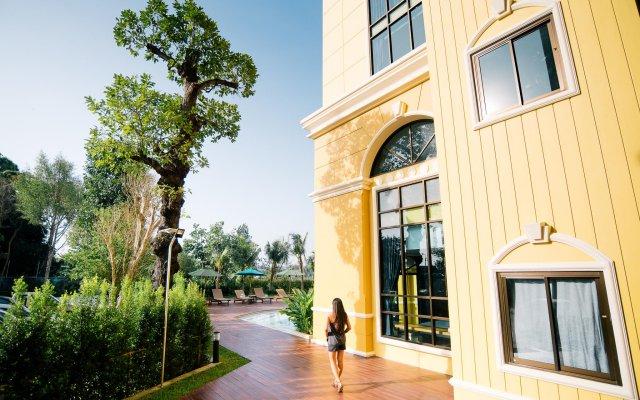 Отель Hula Hula Anana Таиланд, Краби - отзывы, цены и фото номеров - забронировать отель Hula Hula Anana онлайн вид на фасад