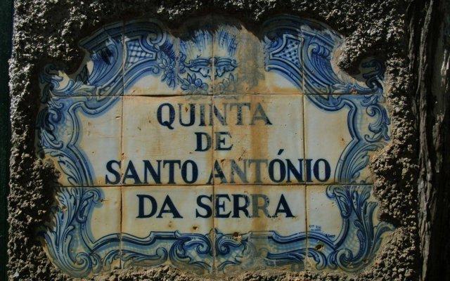 Отель Quinta Santo Antonio Da Serra Машику вид на фасад