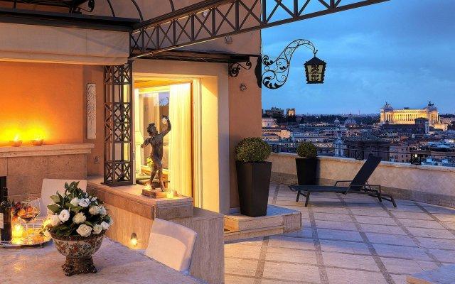 Отель Hassler Roma