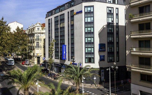 Отель Novotel Suites Cannes Centre Франция, Канны - 10 отзывов об отеле, цены и фото номеров - забронировать отель Novotel Suites Cannes Centre онлайн вид на фасад