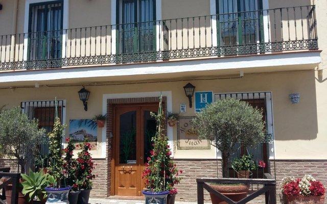 Отель Hostal San Juan Испания, Салобрена - отзывы, цены и фото номеров - забронировать отель Hostal San Juan онлайн вид на фасад