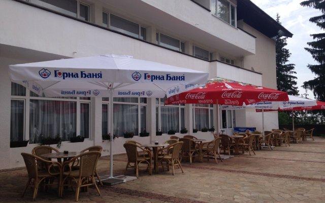 Hotel Panorama Pamporovo вид на фасад