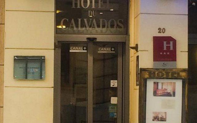 Grand Hotel du Calvados вид на фасад