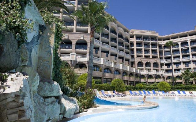 Отель Résidence Pierre & Vacances Cannes Verrerie- Cannes вид на фасад
