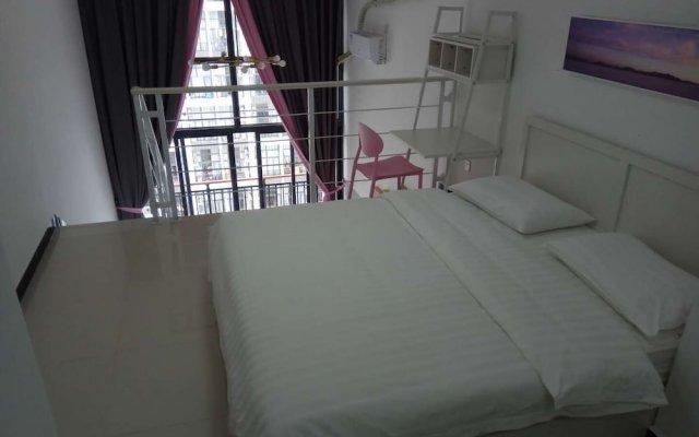 Апартаменты Kaimi Apartment Kesheng Plaza Branch комната для гостей