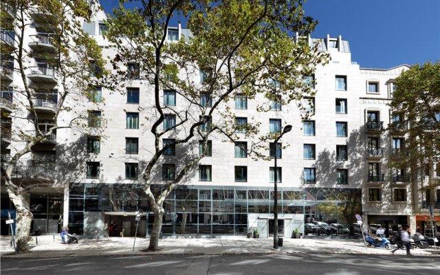 Отель Eurostars Das Letras Португалия, Лиссабон - 2 отзыва об отеле, цены и фото номеров - забронировать отель Eurostars Das Letras онлайн вид на фасад