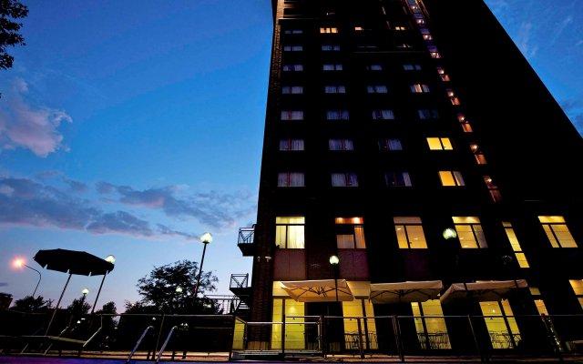 Отель Novotel Torino Corso Giulio Cesare Италия, Турин - 1 отзыв об отеле, цены и фото номеров - забронировать отель Novotel Torino Corso Giulio Cesare онлайн вид на фасад