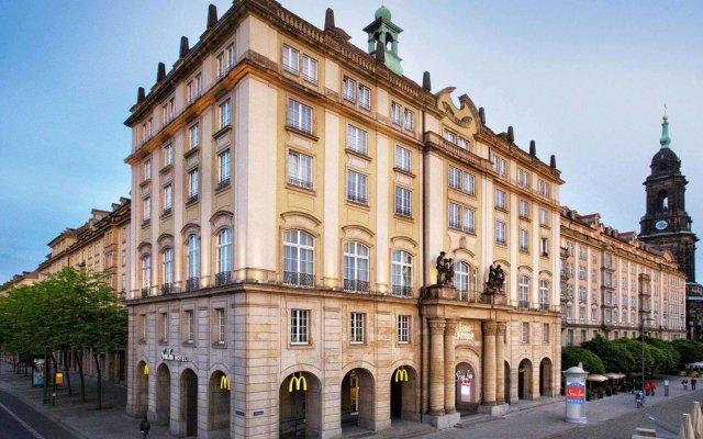 Отель Star Inn Premium Haus Altmarkt, By Quality Дрезден вид на фасад
