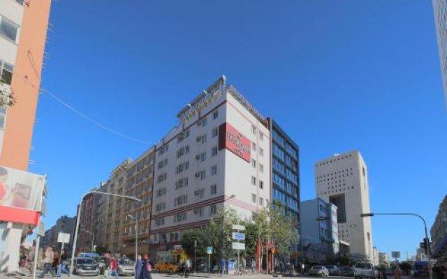 Отель Hosta Otel вид на фасад