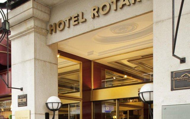 Отель Rotary Geneva MGallery by Sofitel Швейцария, Женева - отзывы, цены и фото номеров - забронировать отель Rotary Geneva MGallery by Sofitel онлайн вид на фасад