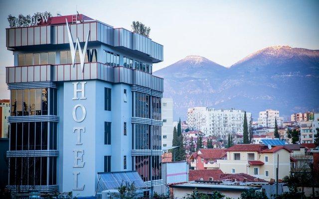 Отель New W Hotel Албания, Тирана - отзывы, цены и фото номеров - забронировать отель New W Hotel онлайн вид на фасад