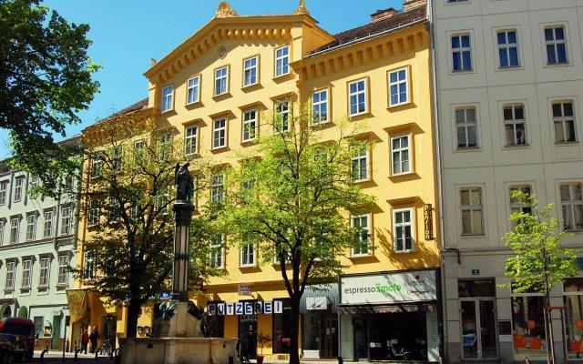 Отель Saint SHERMIN bed, breakfast & champagne Австрия, Вена - отзывы, цены и фото номеров - забронировать отель Saint SHERMIN bed, breakfast & champagne онлайн вид на фасад