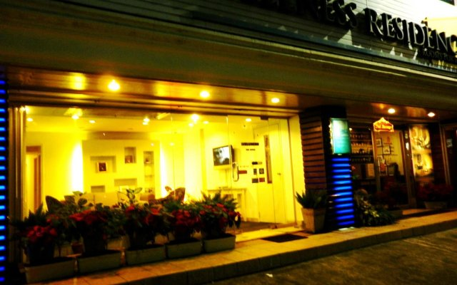 Отель Wellness Residence Бангкок вид на фасад